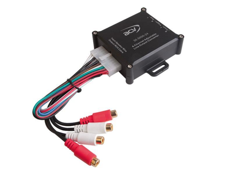 ACV Premium High-Level Adapter 4-Kanal mit Remote