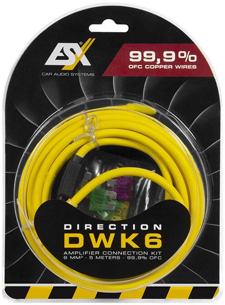 ESX Direction DWK 6 6 qmm OFC Kit