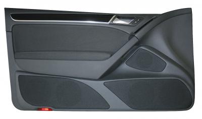 Jehnert VW Golf 6 – nur 2-türig – Doorboards mit 3-Wege Soundsys