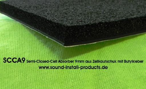 S.I.P SCCA9 Semi-Closed-Cell-Absorber 9mm STK
