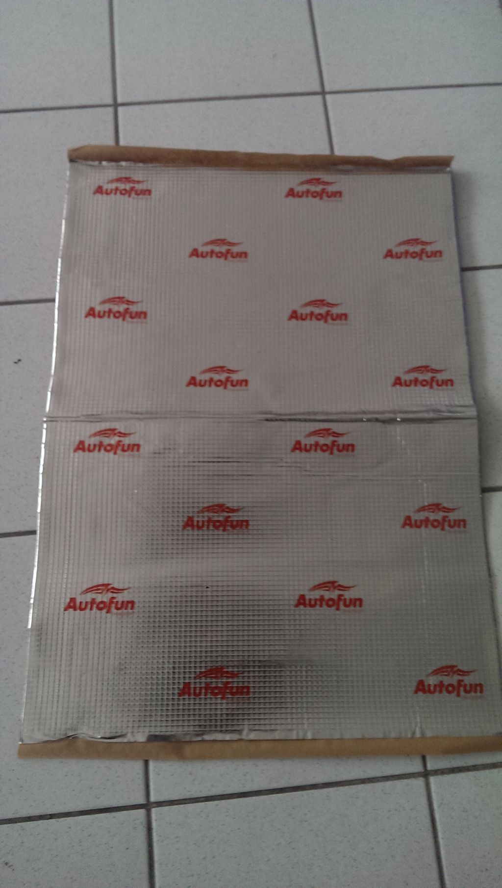 VDM Autofun Alubutyl 2.2 LP ca. 2 qm !!