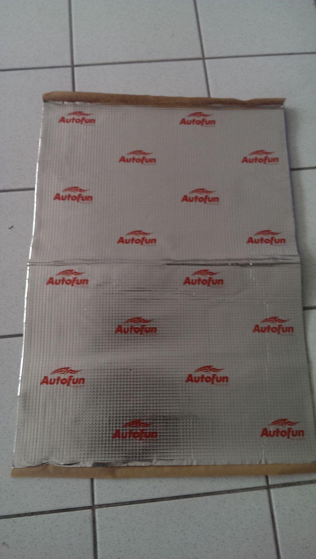 VDM Autofun Alubutyl 1.8 LP ca. 2 qm !!