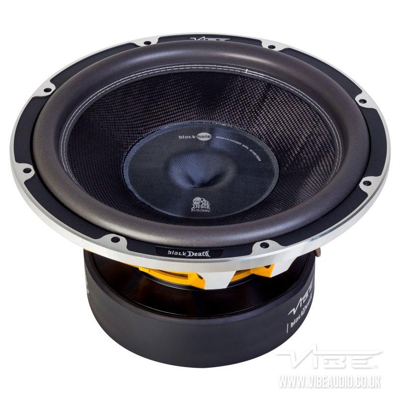 Vibe Audio BLACKDEATH Bubonic 15 Pro SPL