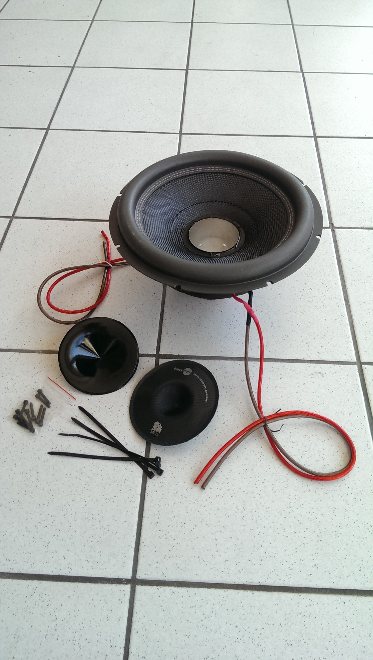 Vibe Audio Black Death 12 SPL Recone KIT