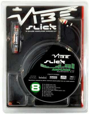 Vibe Audio Slick Kit 8 10qmm